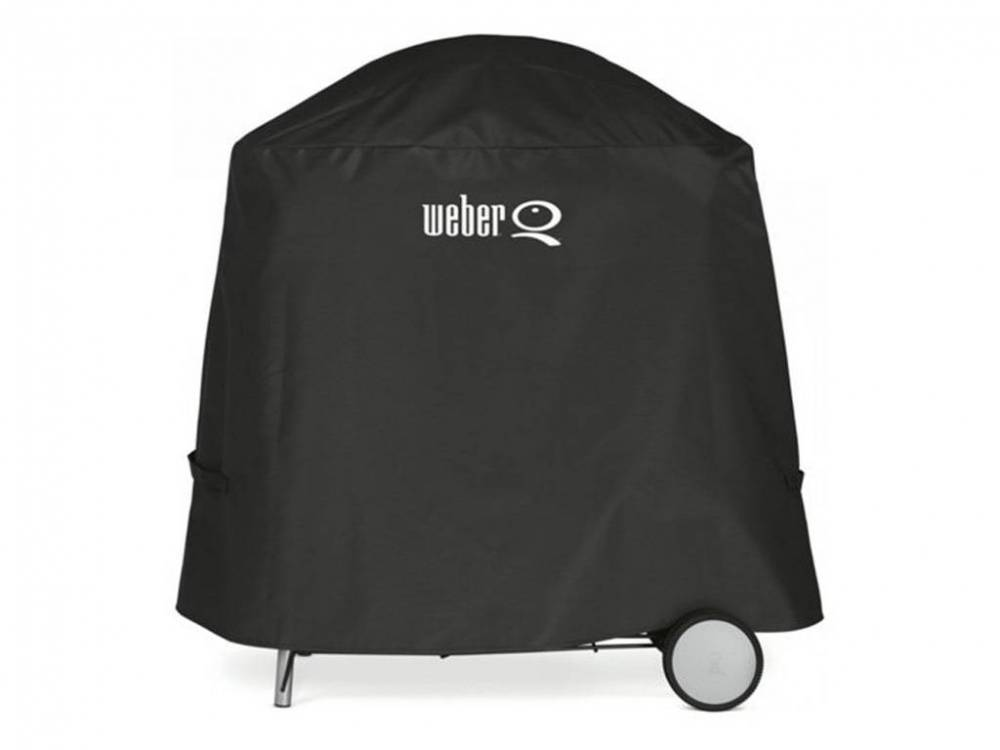 Weber Custodia In Vinile Per Bbq Q2000 (Con Carrello) 7120