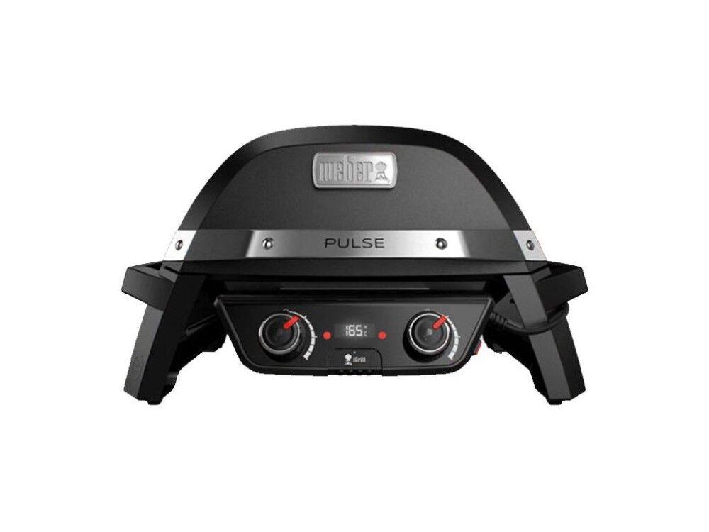 weber barbecue elettrico pulse 2000 black 82010053