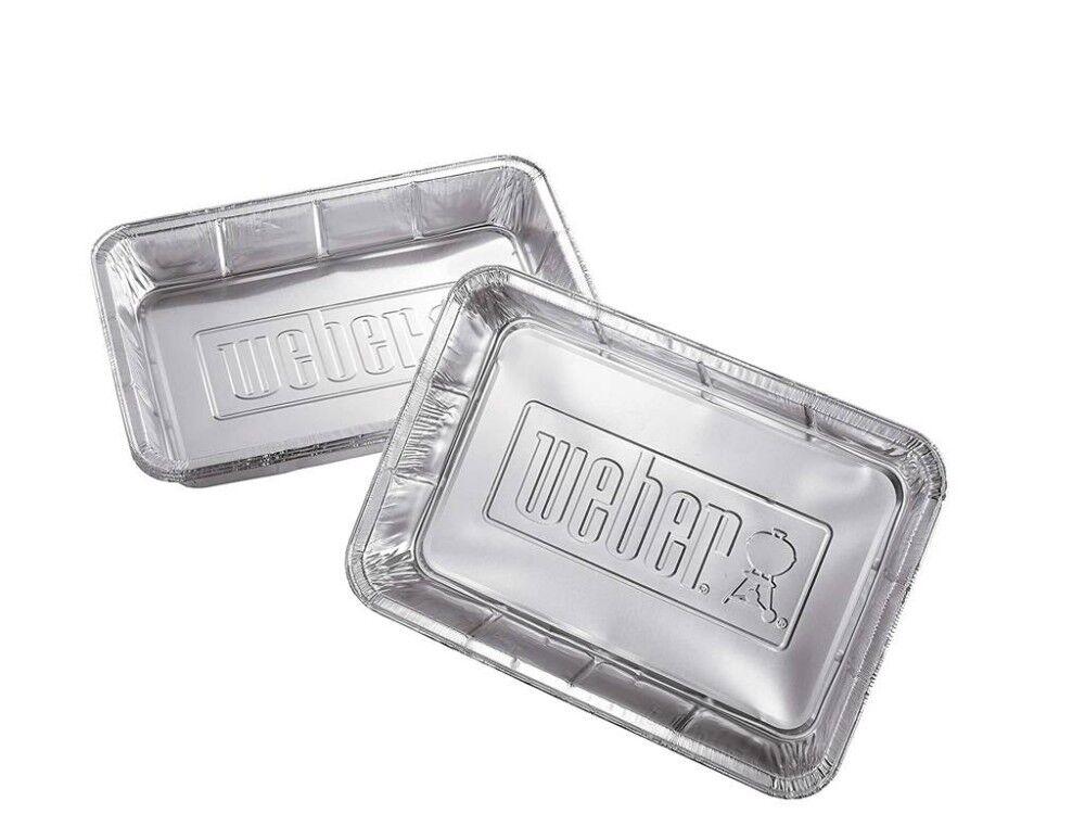Weber Vaschette In Alluminio Per Barbecue A Carbone 6416