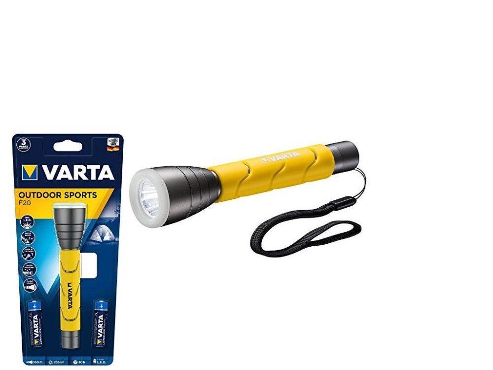varta torcia a led outdoor sports f20 18628