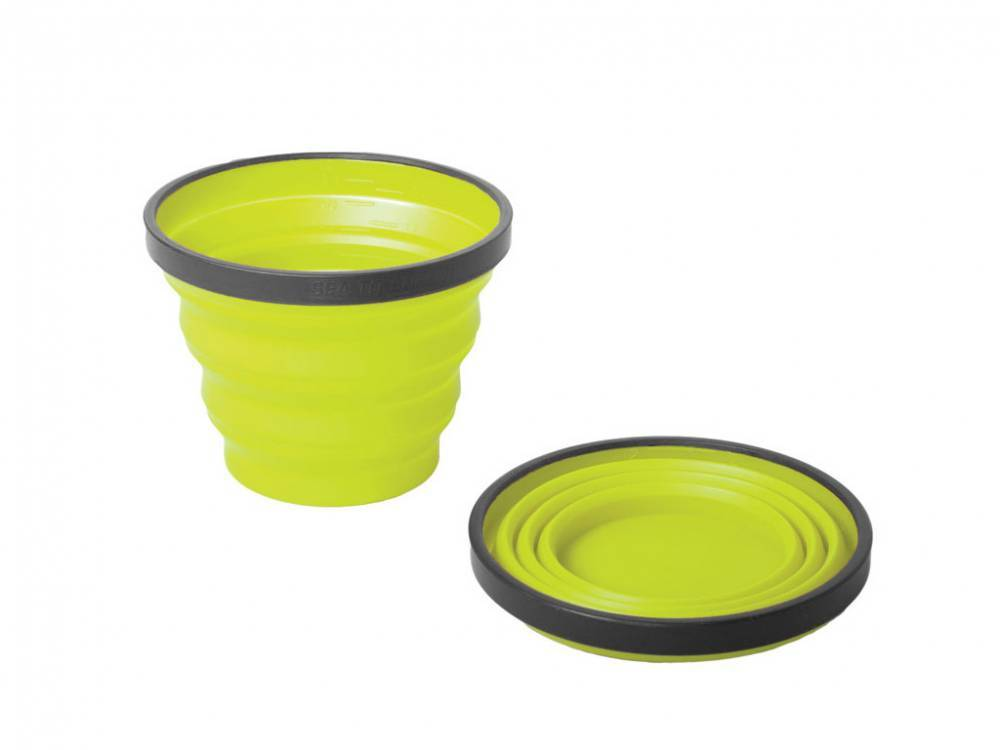 Sea to Summit Tazza Silicone X-Cup Lime Dcupz01