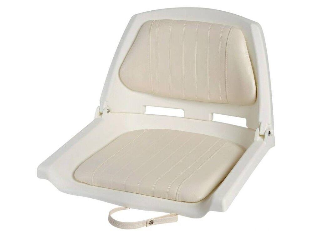 osculati sedile bianco con schienale ribaltabile 48.405.00
