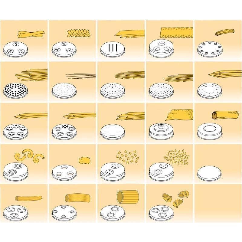 FIMAR Trafile in Bronzo per Macchina Pasta MPF 1,5