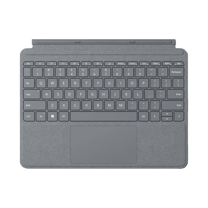 Microsoft Surface Go Type Cover Platino