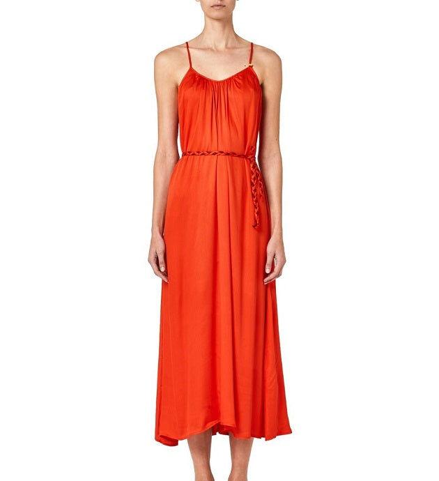 SUNDEK Vestito Donna Art W205drv0700 707 Colore Arancio Misura A Scelta