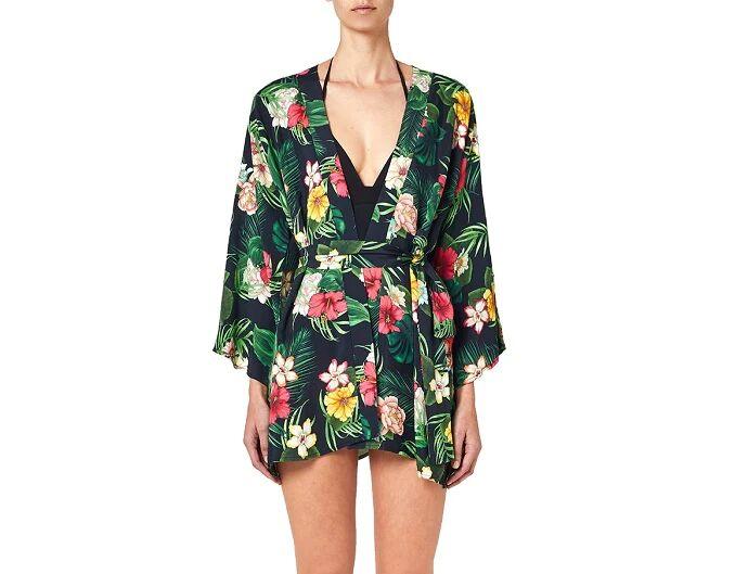 SUNDEK Kimono Prendisole Donna Art W234drja1sw 004 Colore Foto Misura A Scelta