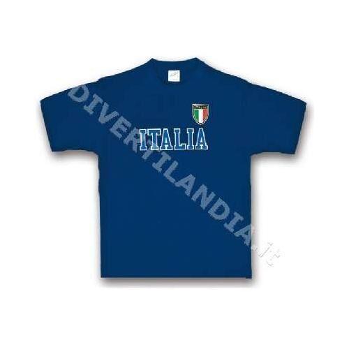 DIVERTILANDIA T-Shirt Italia Bambino Anni 12-14