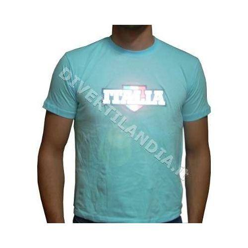 DIVERTILANDIA T-Shirt Italia Luminosa L