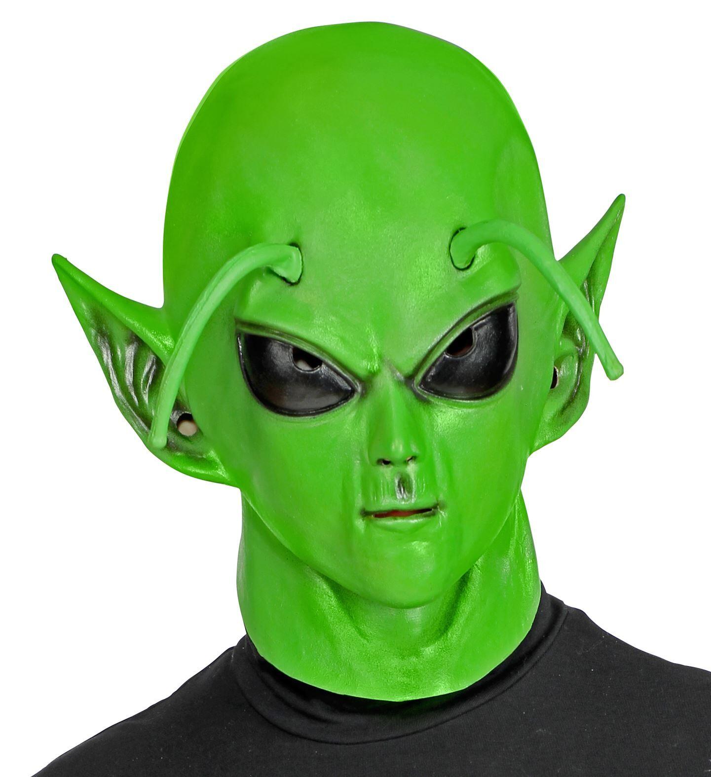 WIDMANN S.R.L. Maschera Alieno Con Testa Completa