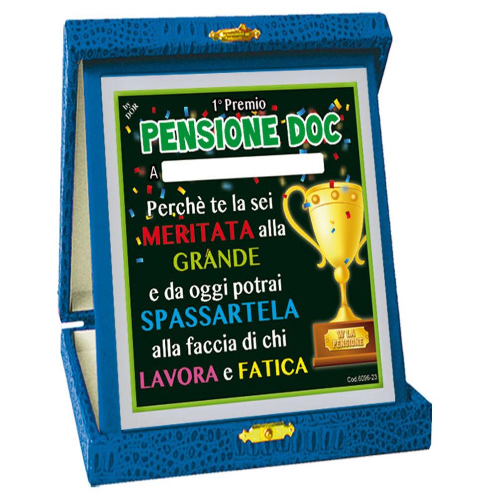 DOR IMPORT SRL Targa 1â° Premio Pensione Doc