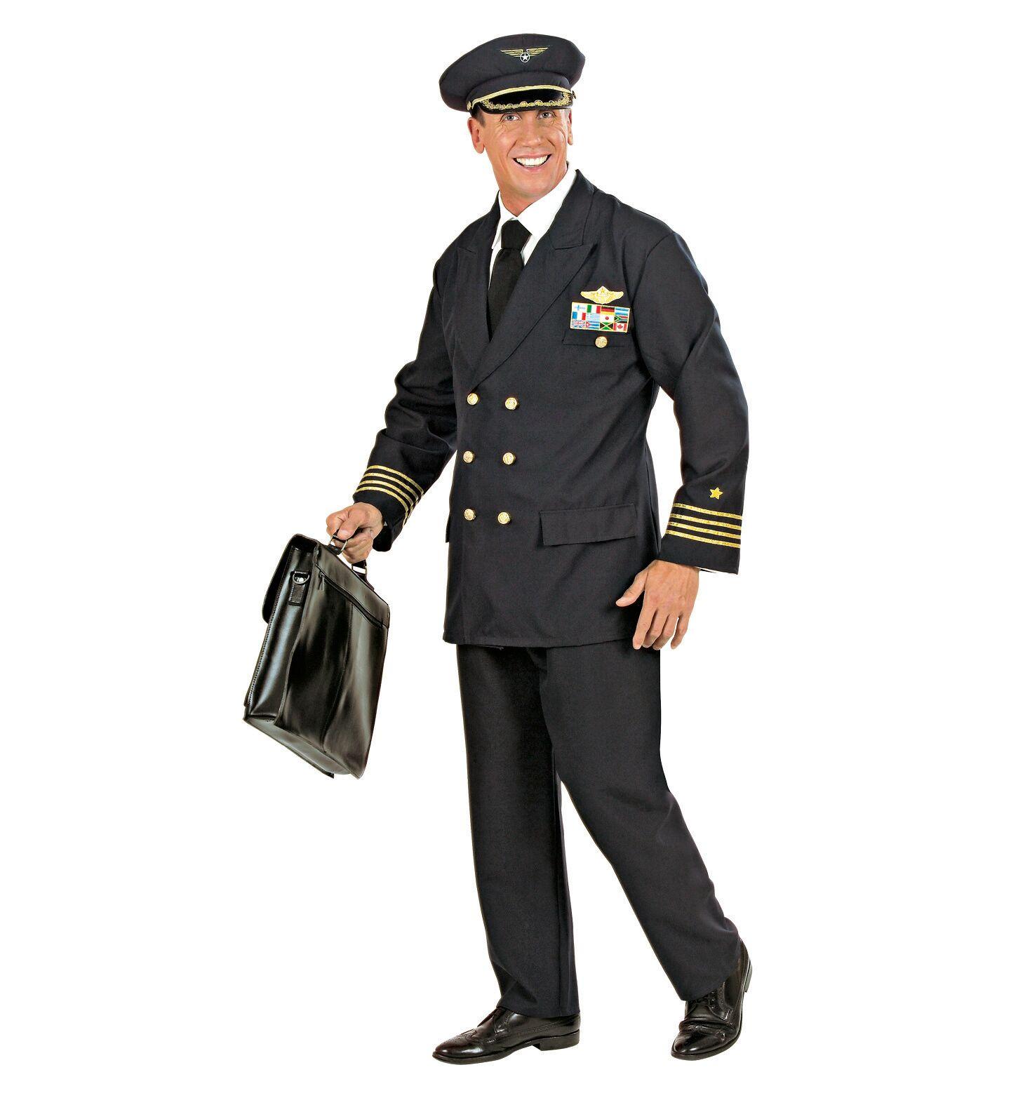 WIDMANN S.R.L. Costume Uomo Comandante Di Aereo In Divisa Blu