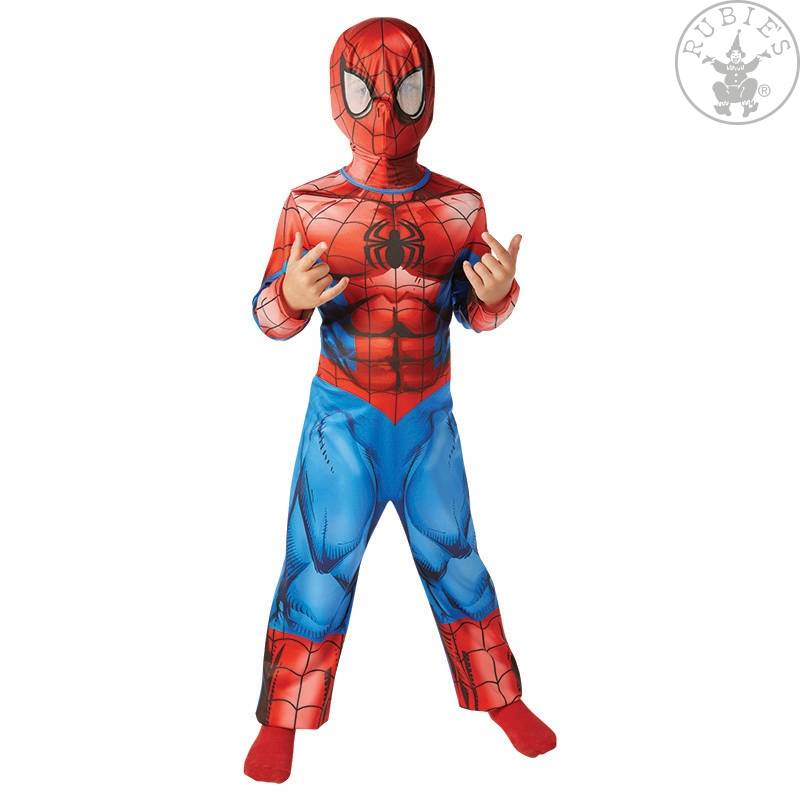 RUBIE'S DEUTSCHLAND GMBH Costume Spiderman Classic Bambino Con Maschera