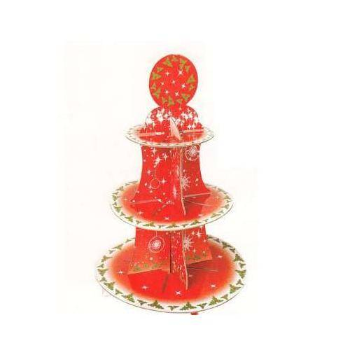 GIVI ITALIA S.R.L. Alzata Per Torta Christmas Time