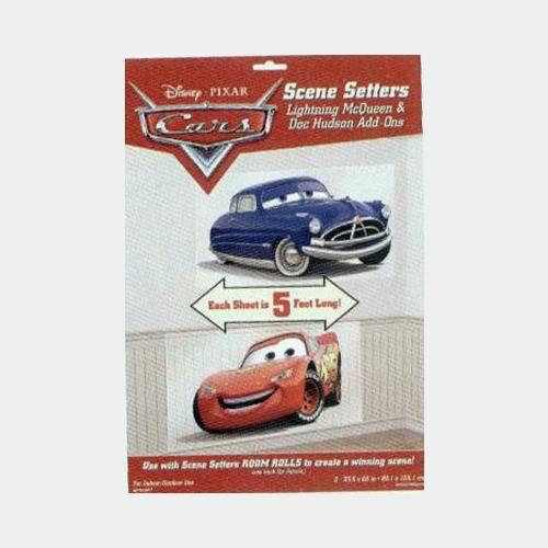DIVERTILANDIA 2 Decorazioni Cars Saetta E Doc Hudson