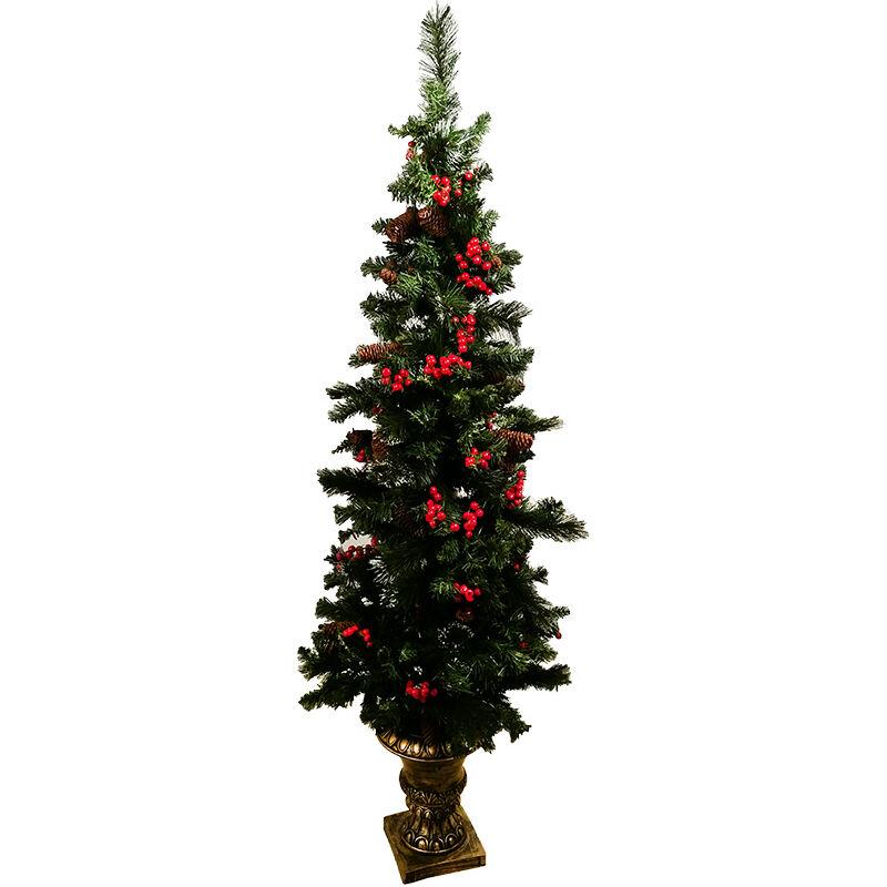 DIVERTILANDIA Albero Di Natale Crestwood Con Basamento