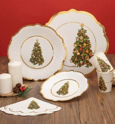 GIVI ITALIA S.R.L. Coordinato Natalizio Oro Albero Di Natale