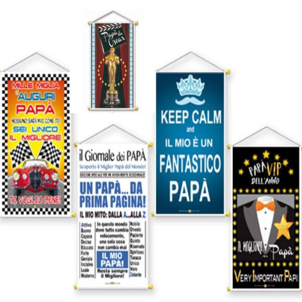 DOR IMPORT SRL La Locandina Del Papa' Per La Sua Festa