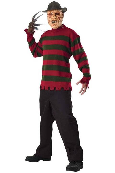 MORRIS COSTUMES Maglione Freddy Krueger Xl In Poliestere