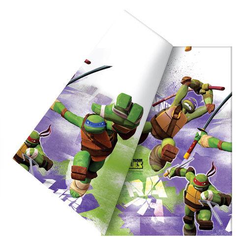 BIGIEMME S.R.L. Tovaglia Ninja Turtles Cm 120 X 180