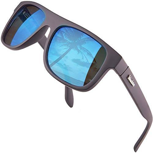 Verdster Islander  Occhiali da Sole a Specchio Grandi da Uomo  Occhiali da Sole Grandi alla Moda  Accessori Inclusi