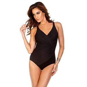 Miraclesuit 6516688 Must Haves Oceanus Donna Costume Intero Modellante Nero 44