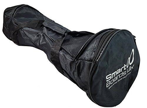 smartboardsuk borsa da trasporto impermeabile hoverboard - per swegway da 6,5 pollici, iohawk, borsa da trasporto segway driftboard (nero)