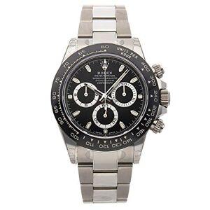 Rolex - Cosmograph Daytona 116500LN, orologio da uomo con quadrante bianco in acciaio inossidabile, automatico