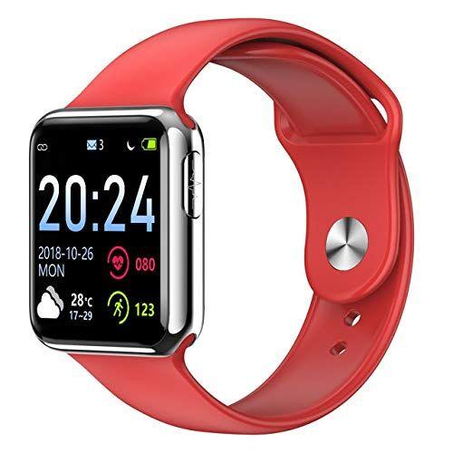Leisont V5 Bluetooth ECG PPG SpG SpO2 HRV Fitness Men Electronic Blood Blood Measurement Smart Heart Rate Monitor Moda Rossa 2