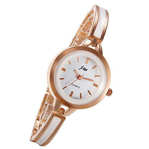 Lancardo, orologio da donna con cinturino in resina epossidica regolabile