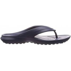 Crocs Classic Flip K Ciabatte, Unisex Bambini, Blu (Nav), 25/26 (C9 UK)