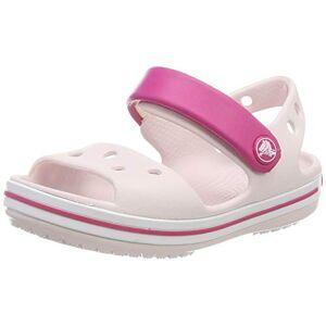 Crocs Crocband Kids, Sandali punta aperta Unisex-Bambini, Rosa (Barely Pink/Candy Pi 6pv), 30/31 EU