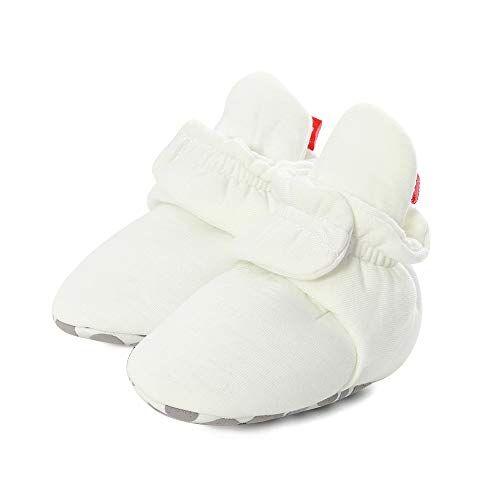 lacofia stivaletti invernali antiscivolo con suola morbida per neonata scarpe primi passi per bambina bianco 12-18 mesi