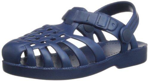 Playshoes Sandali da Bagno, Scarpe da Acqua Unisex Bambini, Blu Marine 11, 22/23 EU
