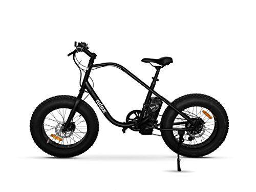 Nilox E Bike X3, Fat Bike Elettrica A Pedalata Assistita, 20, 36V/250W  - Adulto, Nero, Taglia Unica