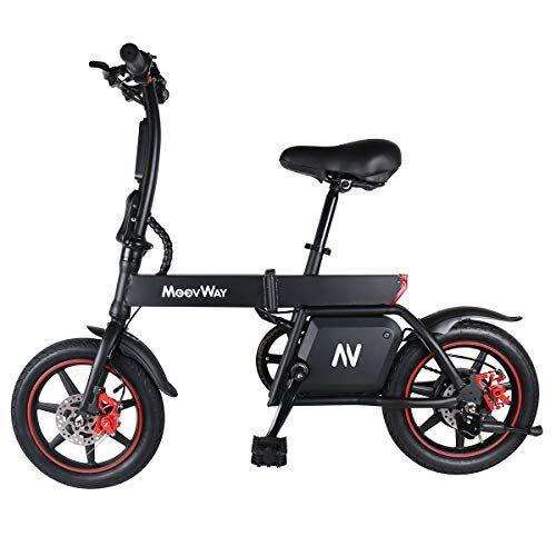 Windgoo Bicicletta Elettrica, 12-14 Pollici Monopattino Elettrico, Potenza 350 W Batteria 36 V 6,0 Ah E-Bike, Bicicletta Elettrica Pieghevole, velocit Max 30km/h (B20)