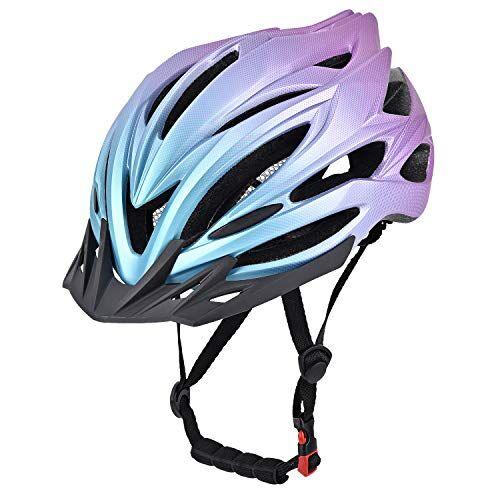 Yiesing Casco da Bici per Adulti,Casco da Ciclismo per Biciclette da Strada/Montagna per Uomini e Donne con Visio Rimovibile, Dail Regolabile, Ventile di Flusso e Rivestimento Staccabile
