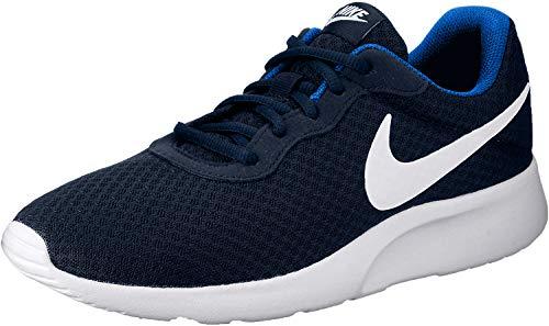 Nike Tanjun Mn, Scarpe Sportive Uomo, Blu (Midnight Navy/WHITE-Game Royal), 44.5 EU
