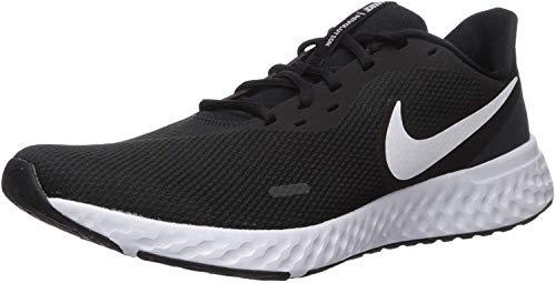 Nike Revolution 5, Scarpe da Corsa Mens, Black/White-Anthracite, 47.5 EU