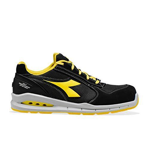 diadora utility diadora - scarpa da lavoro bassa run net airbox low s1p src per uomo e donna (eu 37)