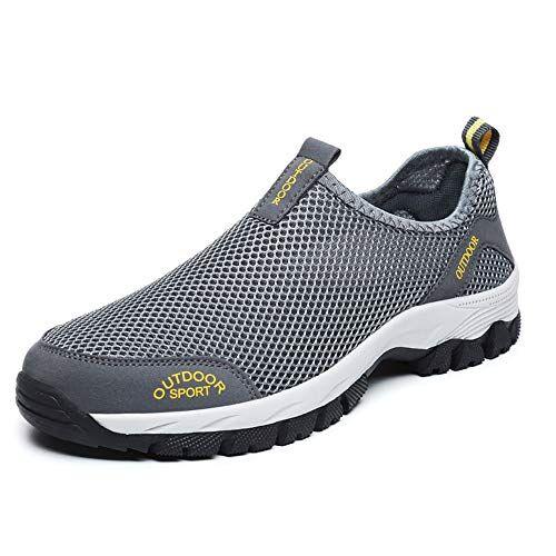 siphly Uomo Scarpe da Ginnastica Sportive Sneakers Running Basse Basket Sport Outdoor Fitness Respirabile Mesh Scarpe da Corsa Scarpe da Barca Mesh Scarpe da Camminata