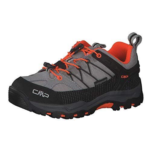 cmp scarponi da trekking e da trekking, unisex, da adulto, grigio (cemento flash orange), 31 eu