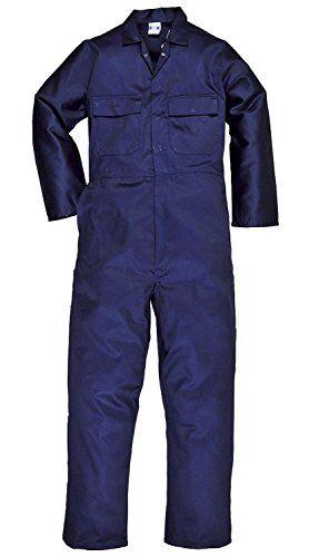 super save direct uk tuta intera da lavoro da uomo, a copertura integrale navy blue large