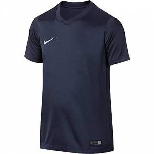 Nike Park VI Jersey SS Youth, T-Shirt Bambino, Midnight Navy/White, S