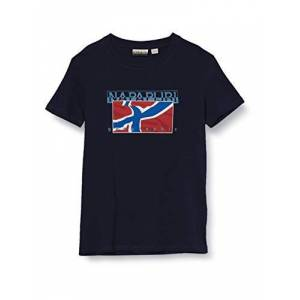 Napapijri K Sallyn T-Shirt, Blu (Blu Marine 1761), 122 (Taglia Unica: 6) Bambino