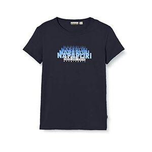 Napapijri K Syllo T-Shirt, Blu (Blu Marine 1761), 104 (Taglia Unica: 4) Bambino