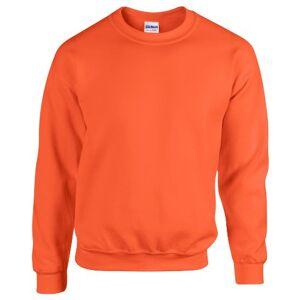 Gildan - DryBlend da uomo, 260 g Maglia in pile 50/50 (G120). - Arancione - S