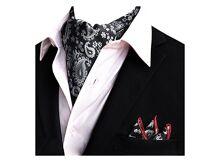 6669ad7f536f YCHENG Accessory YCHENG Uomo Foulard Da Cravatte Di Lusso In Seta E Fiore  Modello Papillon Sciarpa turchese.