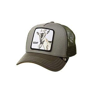 Goorin Bros. Goorin Brothers Unisex Animal Farm Snap Back Trucker Hat Olive Goat Beard One Size