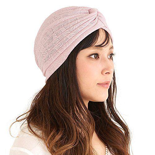 Charm Casualbox   da Donna Moda Turbante Cappello Foglia Modello Pastello Colore Carino Stravagante Afro Accessorio Rosa
