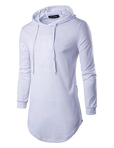 YCHENG Uomo Felpa Moda con Cappuccio Maniche Lunghe Pullover Sweatshirt